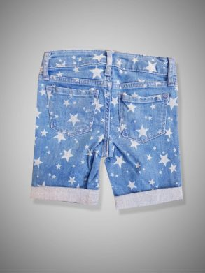GIRLS STARS FRONT POCKET SHORT| GAP