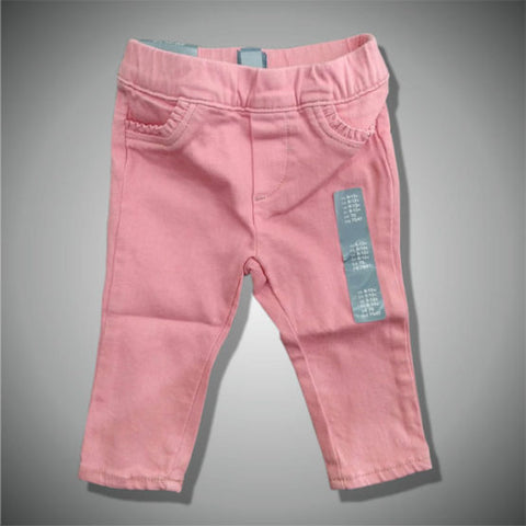 GIRLS TEDDY BEAR GAP JEANS(6-24)M