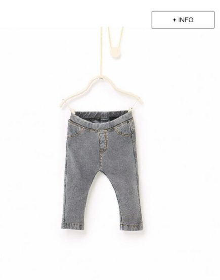 GIRLS TROUSER ZARA (3MONTHS TO 4 YEARS) CHARCOAL