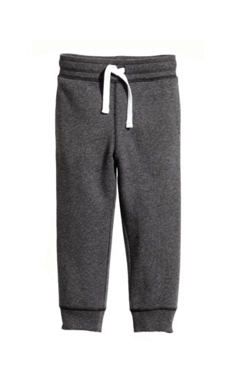 GIRL'S H&M TROUSER-CHARCOAL