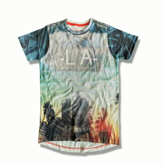 GIRL'S LOS ANGLES TEE BY F&F (5-13)YRS