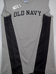 GO-DRY MESH-TRIM MUSCLE TOP FOR MEN|OLD NAVY