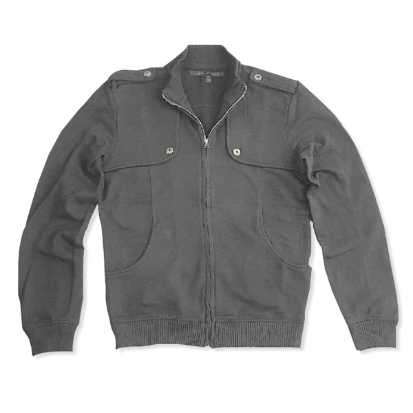 MEN'S BOMBER TERRY JACKET| STANDARD CLOTH