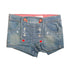 GIRL'S LOVE EMBROIDERY SHORT|MARKHOR-(5-14)YRS