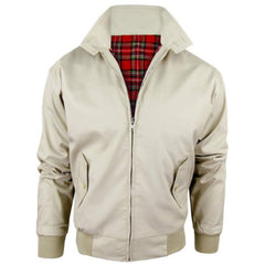 MEN'S CLASSIC RETRO HARRINGTON JACKET