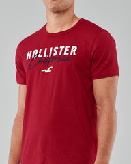 MEN'S B-GRADE LOGO GRAPHIC TEE | HOLISTER