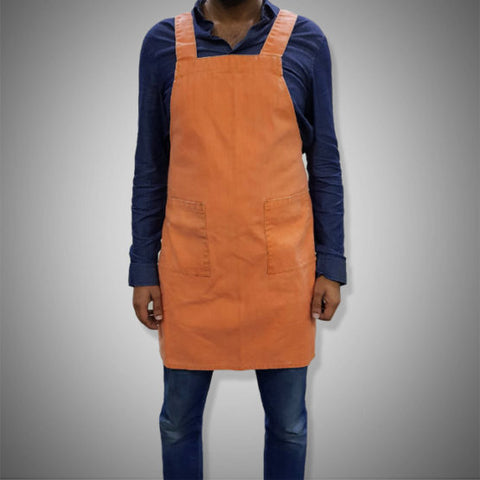 KITCHEN APRON | ORANGE