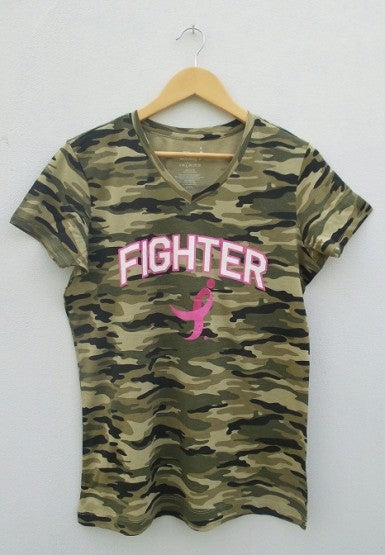 LADIES SUSAN KOMEN FIGHTER TEE