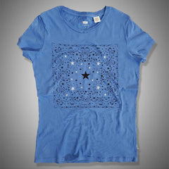 LEVI'S LUCKY STAR TEE -BLUE