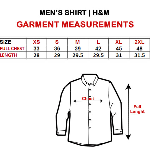 Men S Easy Iron Shirt Slim Fit H M Eb4l