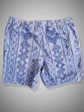 MEN'S LIGHT WEIGHT DENIM SHORTS| MANGO
