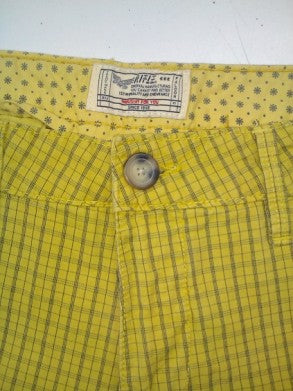 MEN'S TWILL PLAID SHORTS RIFLE