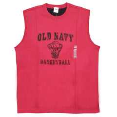 MEN'S BASKETBALL-TRIM MUSCLE TEE|OLD NAVY