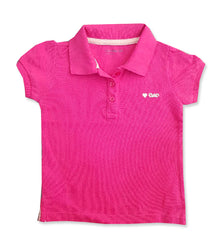GIRL'S EMBO' HEART PIQUE POLO | GAP-(12M-5Y)