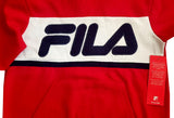 BOY'S APPLIQUE HOOD | FILA-(8Y-18Y)