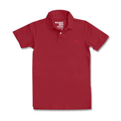 MEN'S EMBROIDERED LOGO POLO |OLD NAVY