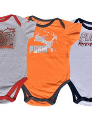 BOYS ROMPER PUMA 1 PACK OF 3