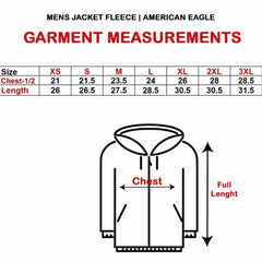 MENS JACKET FLEECE|AMERICAN EAGLE