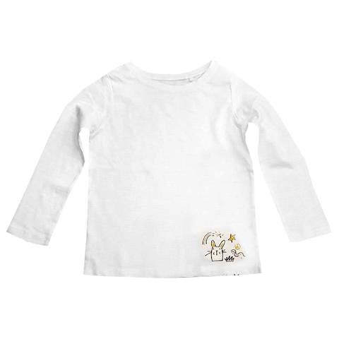 GIRL'S CAT T-SHIRT | FAVOURITE TOP-(3Y11Y)