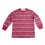 BOYS CLASSIC STRIPED  T-SHIRT| GAP-RED-(4Y-16Y)