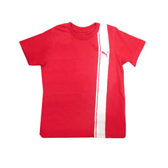 BOY'S FASHION STRIPE T-SHIRT|PUMA-(4Y-7Y)