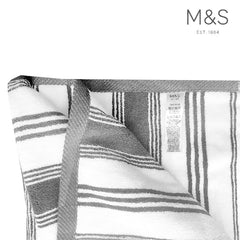 STRIPPED BATH TOWEL | MARKS & SPENCER