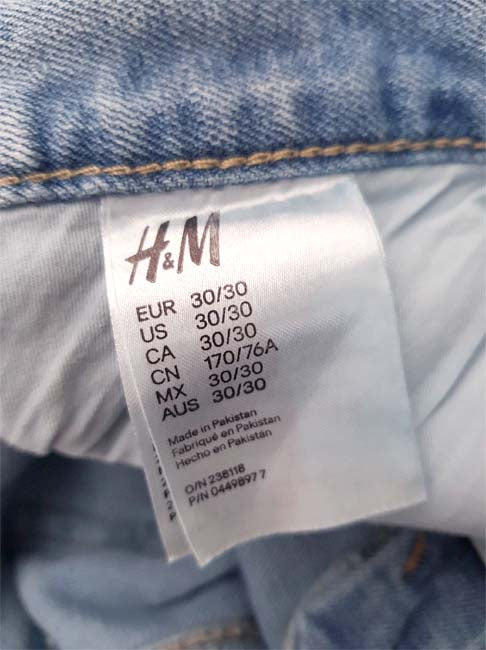 MEN'S SLIM TRASHED JEANS|H&M