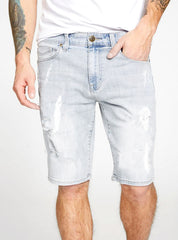 MEN'S RIPPED DENIM SHORTS | GUESS