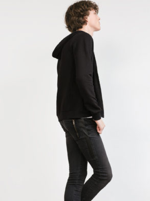 SLIM FIT HOODED SWEATSHIRT|ZR