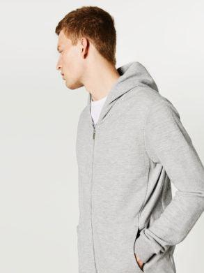 SLIM FIT HOODED SWEATSHIRT|ZARA