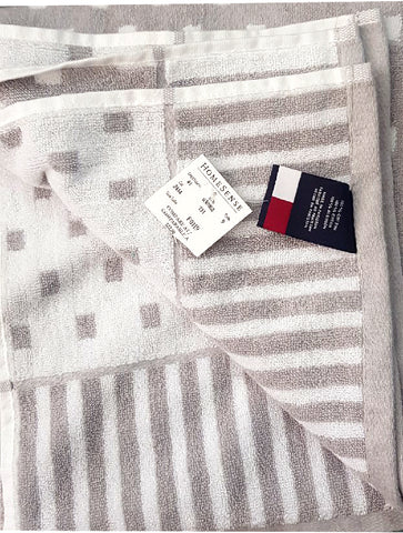 LUXURY SQUIRE DOTTED TOWEL | TOMMY HILFIGER