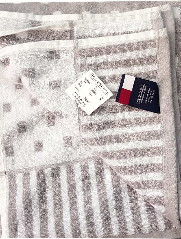 LUXURY SQUIRE DOTTED TOWEL | TOMMY