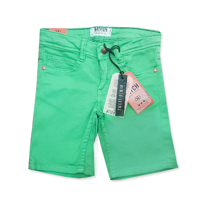 BOY'S SWEAT DENIM SHORT | MITCH-(3Y-8Y)
