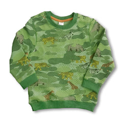 BOY'S ANIMAL SWEATSHIRT | C&A-(12M-5Y)