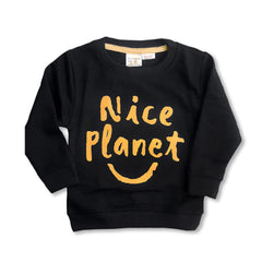 BOY'S NICE PLANET SWEATSHIRT | ZARA-(18M-4Y)