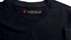 DUDES BASIC BLACK COTTON  T-SHIRT | NEVADA