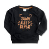 BOY'S YAWN SLEEP SWEATSHIRT | ZARA-(18M-4Y)