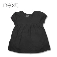 GIRLS BLACK FROCK | NEXT-(12M-8Y)