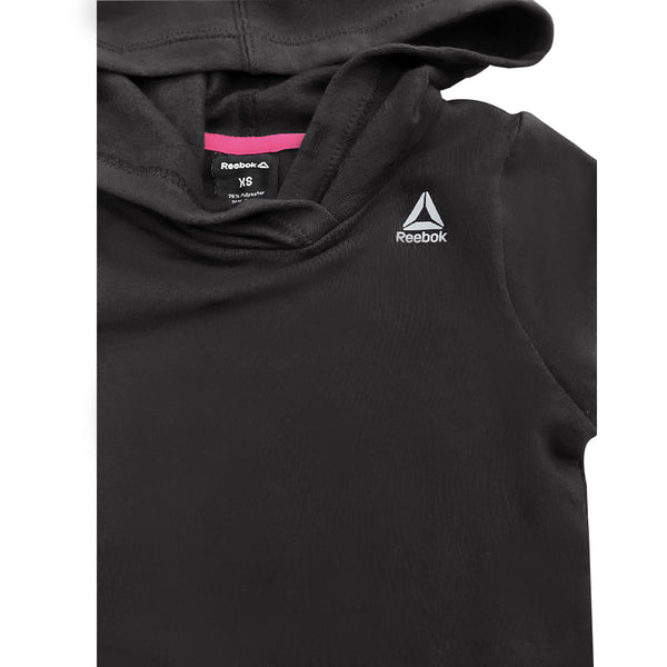 GIRL'S FLEECE LOGO HOOD | REEBOK-(6Y-16Y)