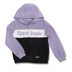 GIRL'S ZIPPER PANEL HOODIE | REEBOK-(5Y-16Y)