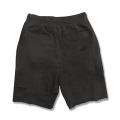 BOY'S RIPPED TERRY SHORTS | LMHD-(10Y-16Y)