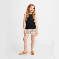 GIRL'S FRINGE COTTON T-SHIRT | MANGO-(4Y-14Y)