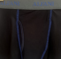 MEN'S MASH BOXER | BLACK | ALFANI