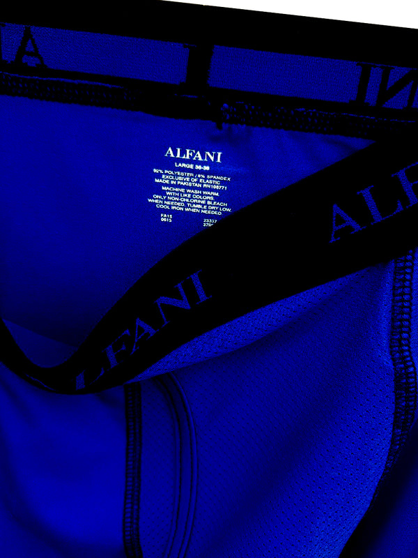 MEN'S MASH BOXER | BLUE ALFANI