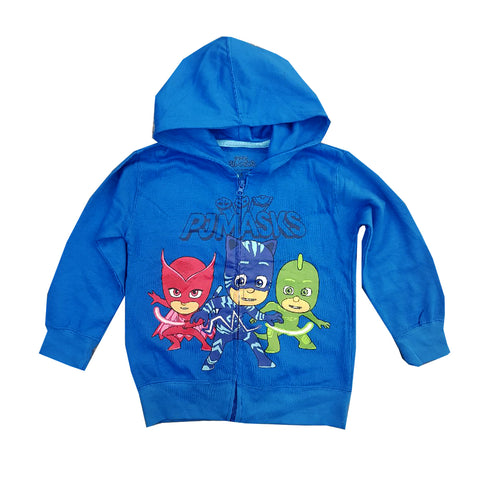 UNISEX CARTOON CHARACTER PRINTED HOOD | PJMASKS-(2Y-7Y)