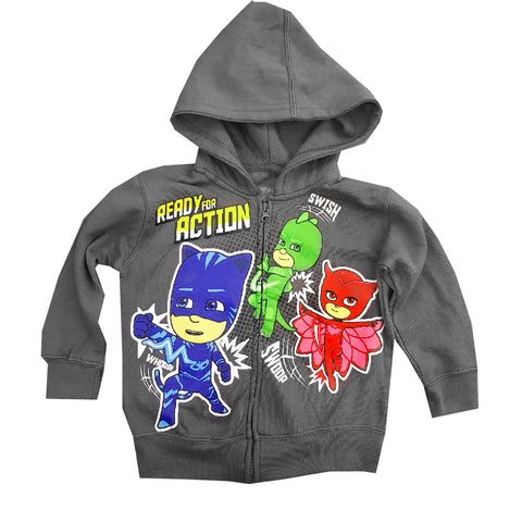 UNISEX READY FOR ACTION HOOD | PJMASKS-(2Y-7Y)