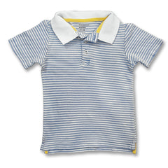 BOY'S BLUE STRIPE  POLO | OLD NAVY