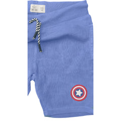 BOY'S B-GRADE CAPTAIN AMERICA SHORTS | UNIT KIDS -(4Y-16Y)