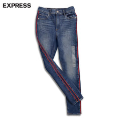 LADIES SIDE STRIPE JEANS | EXPRESS