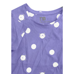 GIRL'S POLKA DOT TEE | MOTHERCARE-(2Y-8Y)